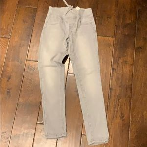 Justice 10R Gray jeggings